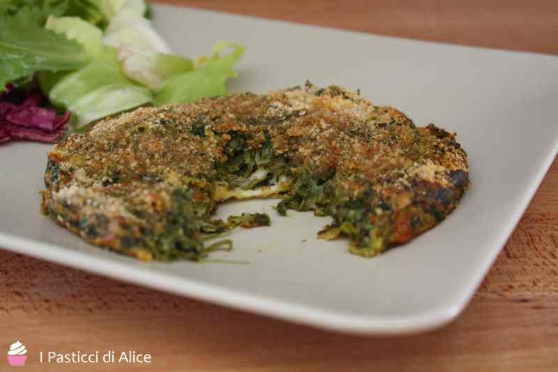 Ricetta: Hamburger filanti con spinaci