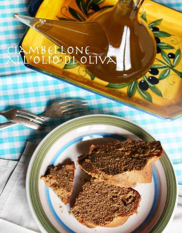 Ricetta: Ciambellone all\'olio di oliva