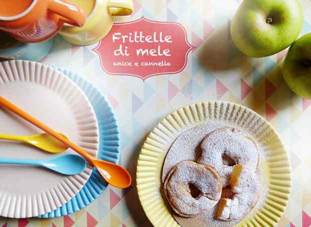 Ricetta: Frittelle di mele anice e cannella