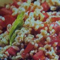 Orzo ai pomodorini e sedano
