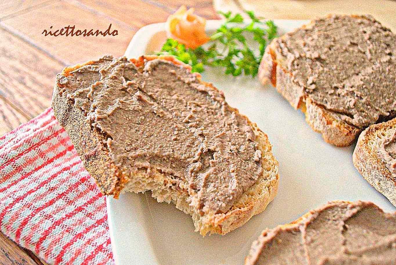 Ricetta: Crostini toscani di pate di fegatini