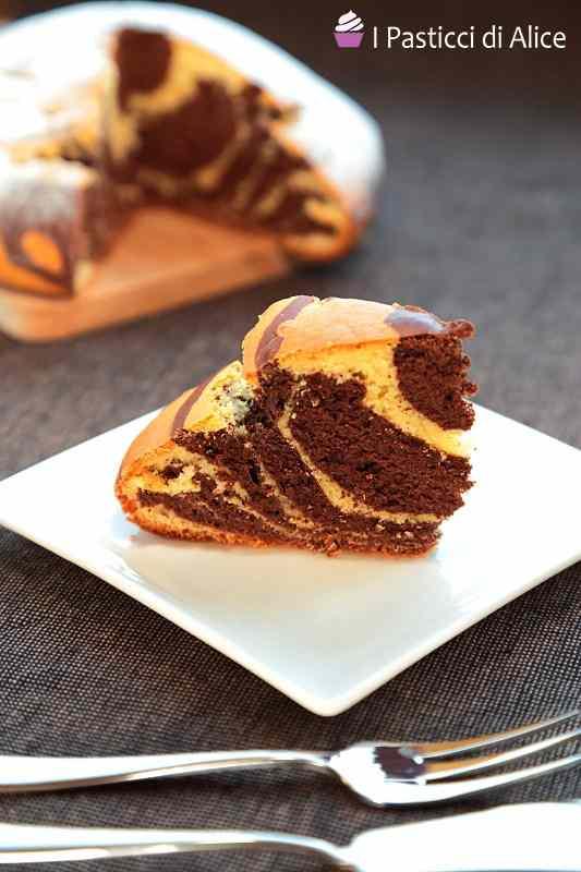 Ricetta: Torta Zebrata senza Burro