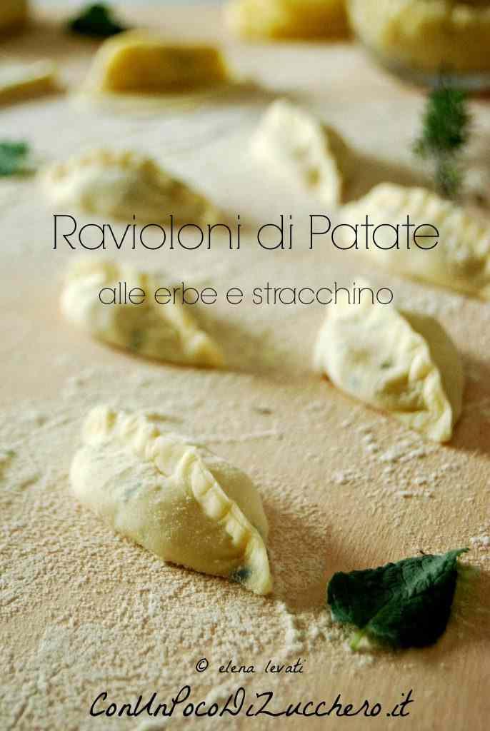Ricetta: Ravioli ripieni di patate