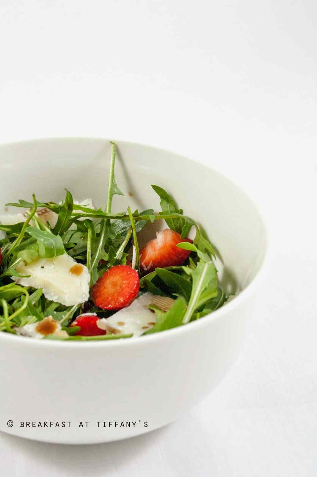 Ricetta: Insalata di fragole / strawberries salad