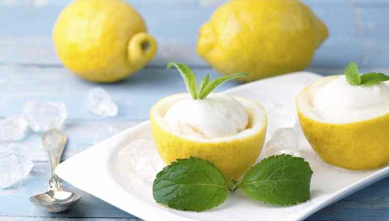 Sorbetto al limone: come digerire in maniera naturale e golosa!