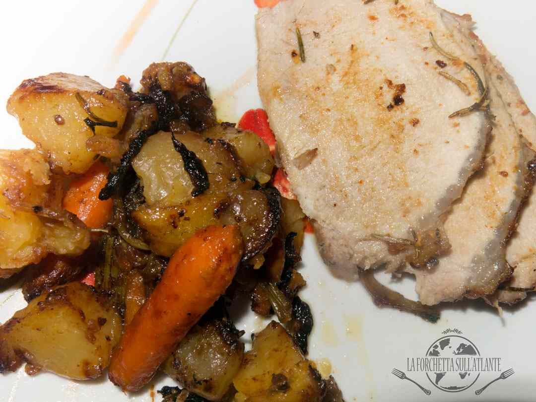 il perfetto arrosto di maiale di jamie oliver