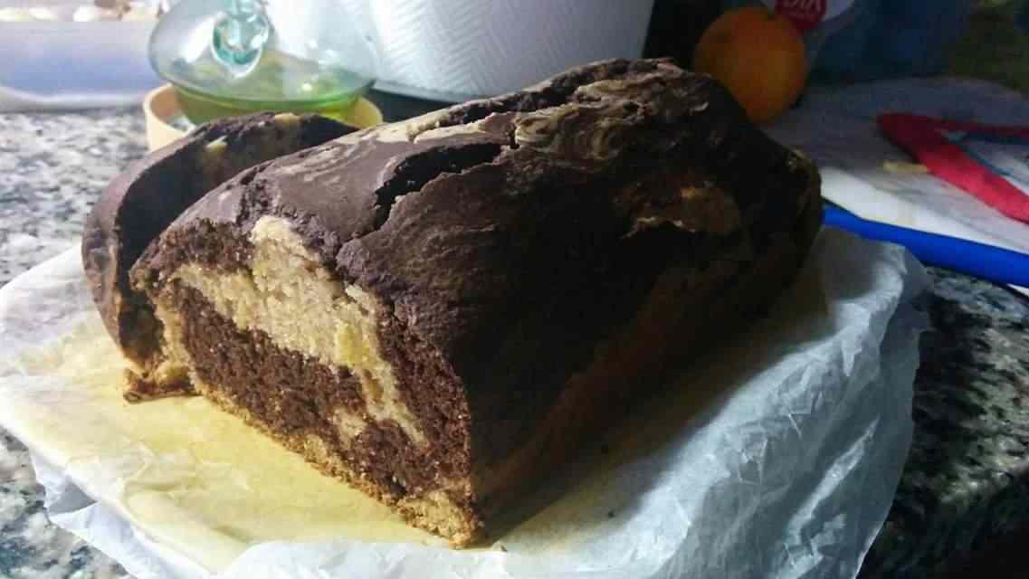 Ricetta: Plumcake integrale bicolore