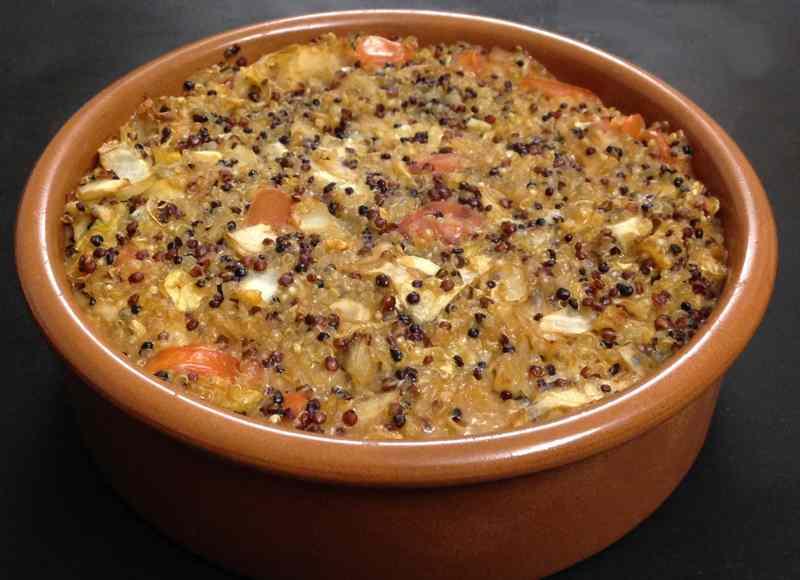 Ricetta: Tortino rustico di quinoa