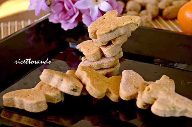 Ricetta: Frollini al parmigiano