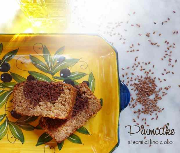 Plumcake ai semi di lino e olio