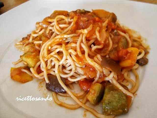 Ricetta: Noodles alle verdure