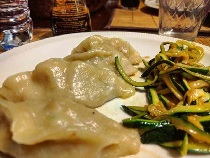 Ricetta: Ravioli al vapore con gamberi e verdure light