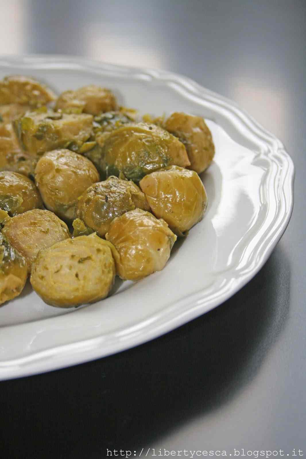 Cavoletti di bruxelles con aglio, olio e peperoncino | breakfast at tiffany\'s