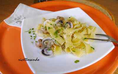 Pappardelle ricce alle vongole