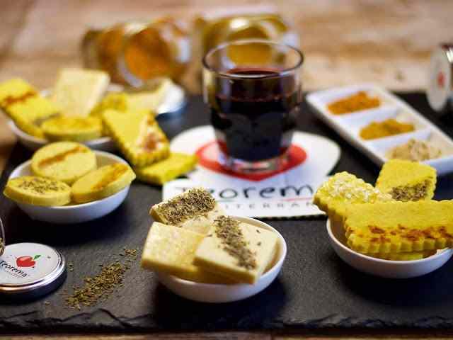 Ricetta: frollini salati con teorema mediterraneo