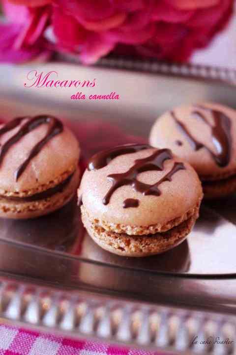 Ricetta: Macarons alla cannella con ganache al cioccolato al latte e cannella