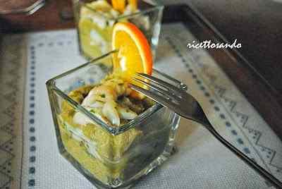Bicchierini di platessa e broccoli quasi uno smoothie