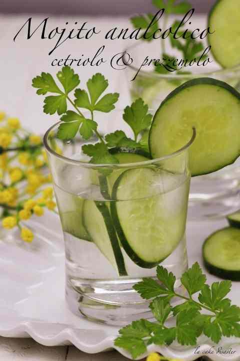 Ricetta: L\'angolFesta della donna: un brindisi analcolico e tutto vegano...mojito cetriolo e prezzemolo