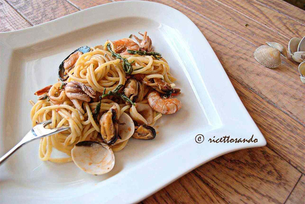 Ricetta: Spaghetti allo scoglio