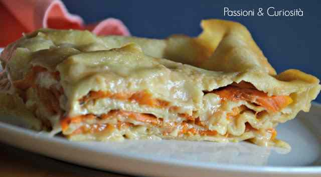 Lasagna con la zucca