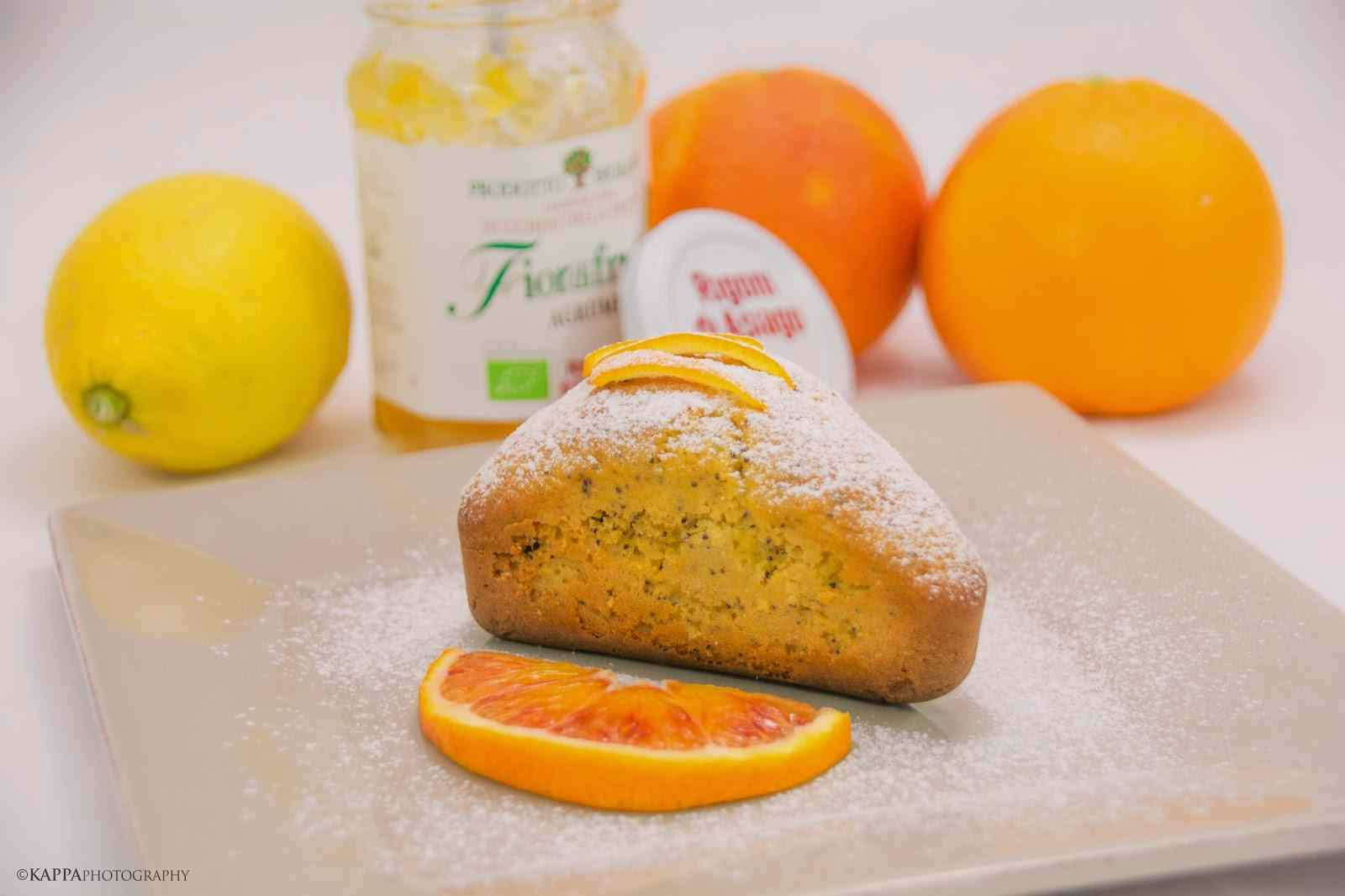 Mini plum-cake all\'arancia / orange mini plum-cake recipe
