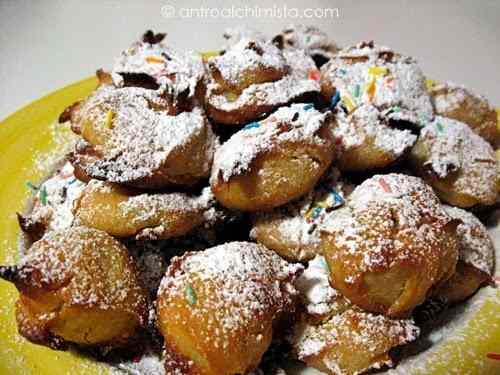 Ricetta: Castagnole al Forno