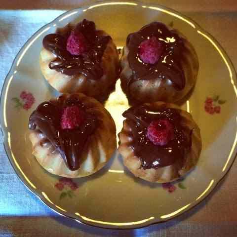 Ricetta: Mini ciambelle con farina integrale di avena