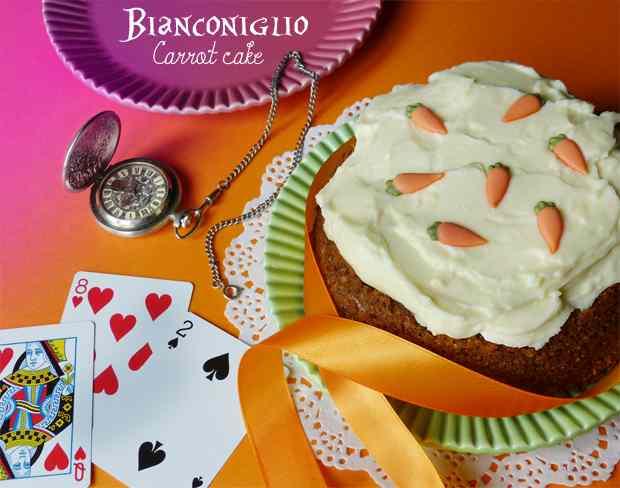 Bianconiglio carrot cake