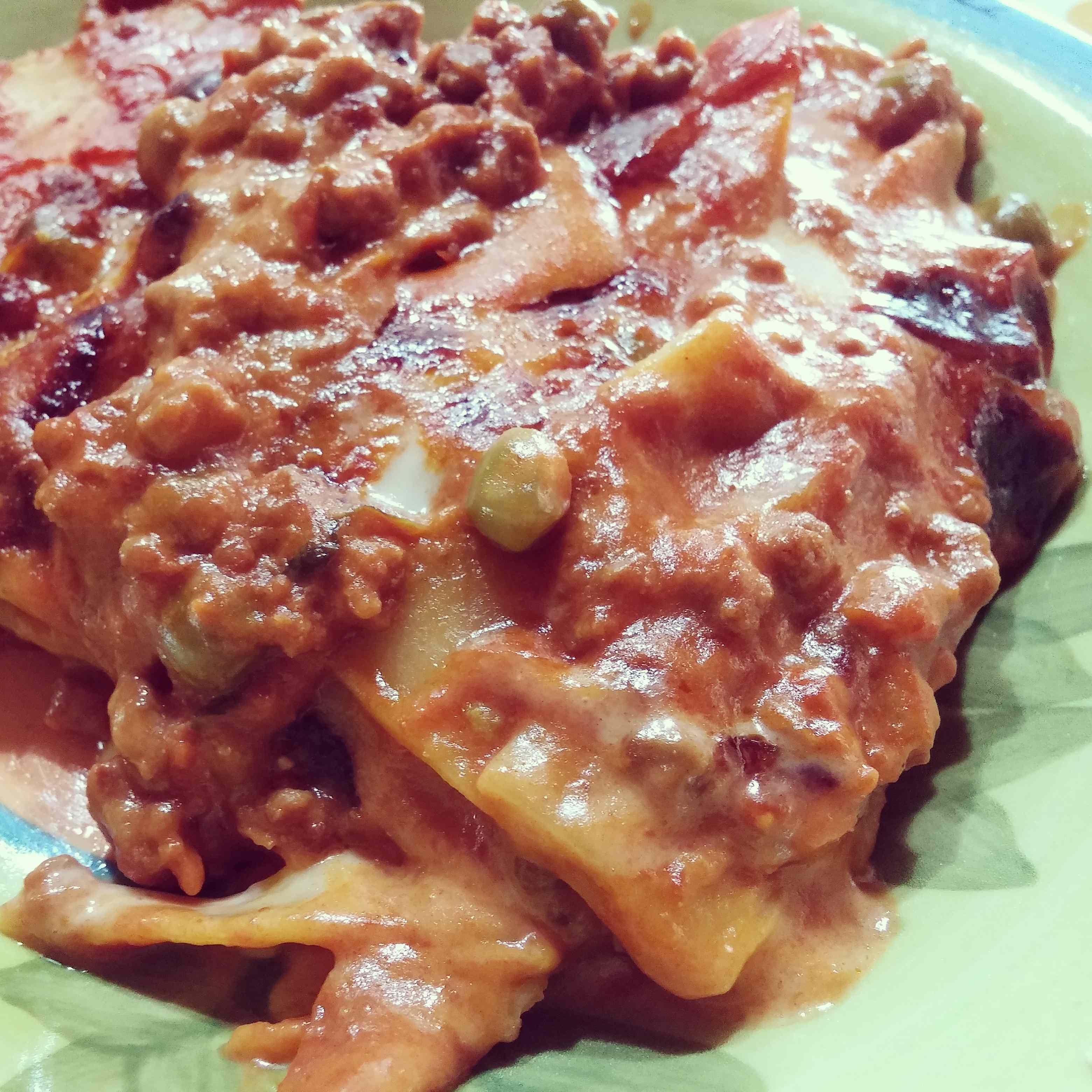 Lasagne semplici al forno