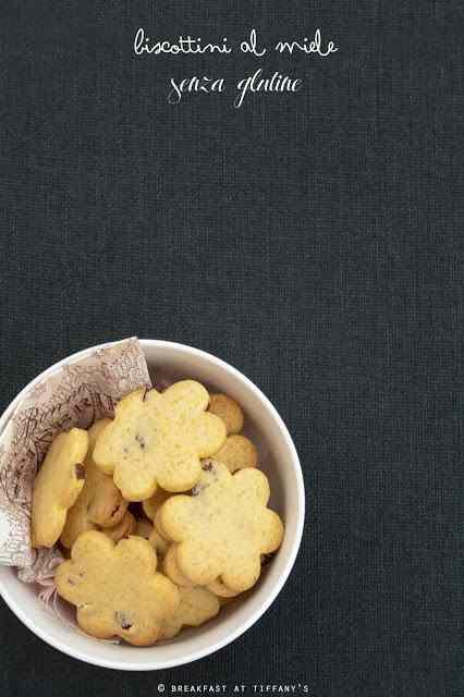 Ricetta: Biscottini al miele senza glutine / gluten-free honey cookies recipe