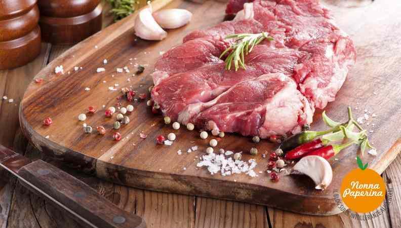 Ricetta: Carne cruda alla piemontese