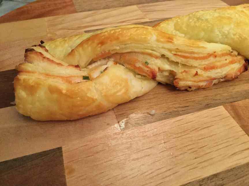 Golosa treccia salata