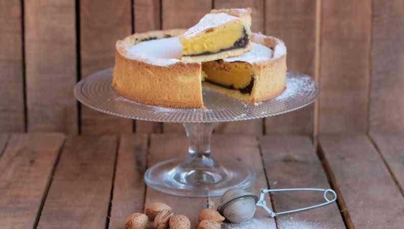 Ricetta: Crostata con marmellata di castagne , whisky e crema frangipane