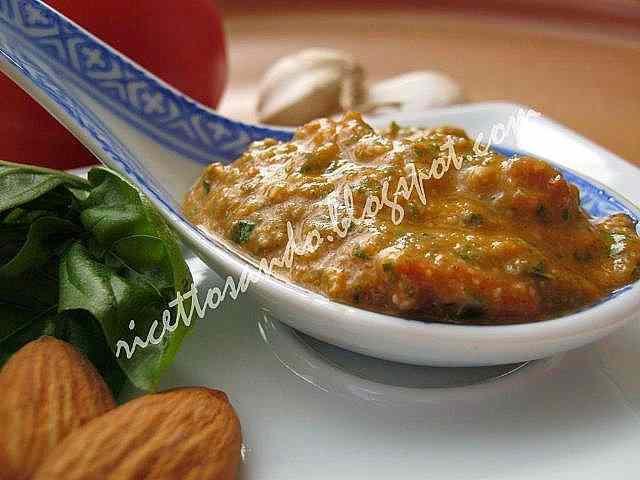 Ricetta: Pesto trapanese