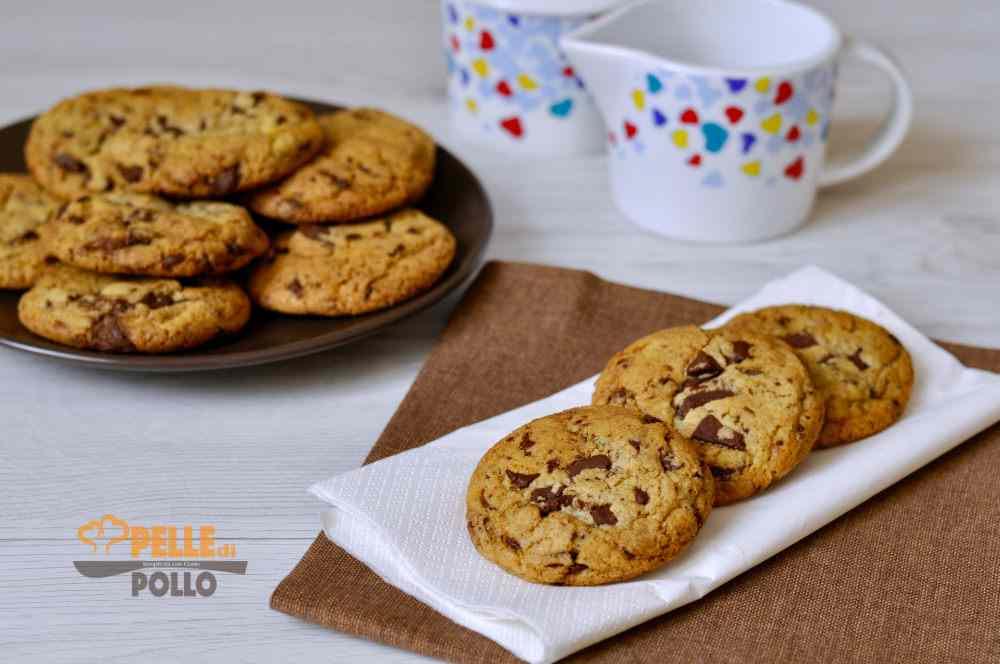 Cookies americani al cioccolato