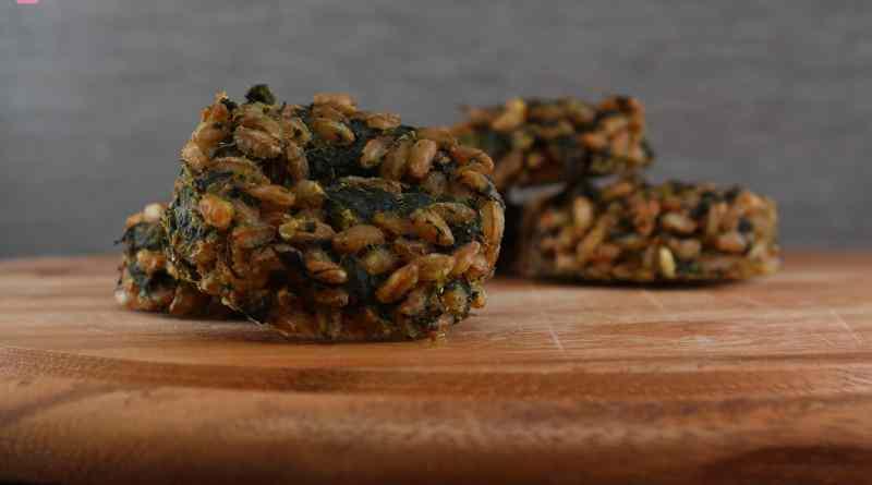 Crocchette di farro agli spinaci