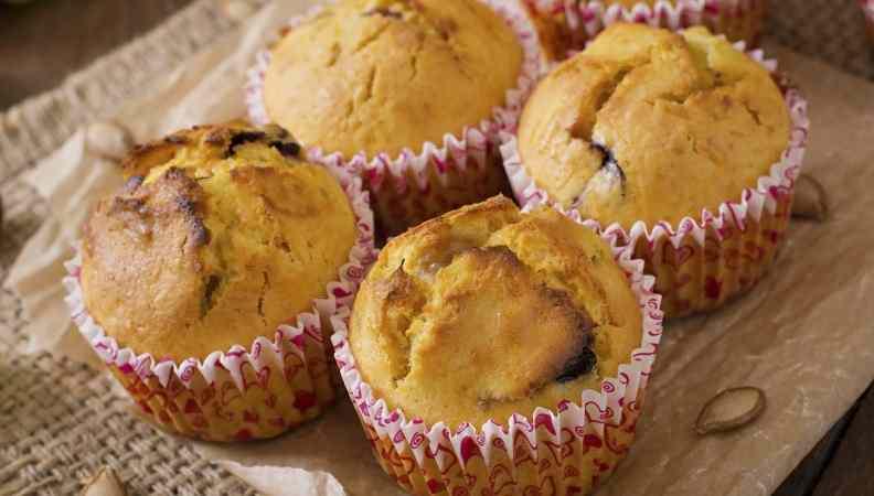 Muffin di zucca e uva: tutto gusto e salute!