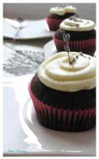 Cupcakes cioccolato e lavanda