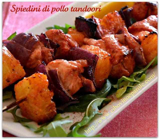 Ricetta: Spiedini di pollo tandoori