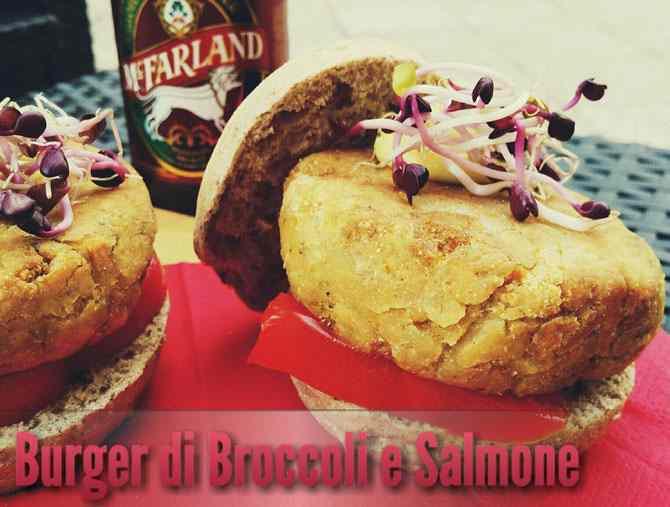 Burger Salmone & Broccoli
