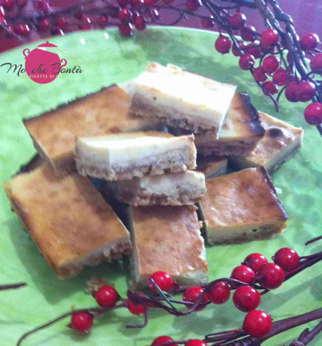 Ricetta: Gingerbread cheesecake