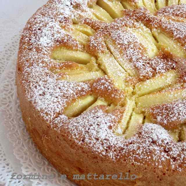torta di mele morbidissima
