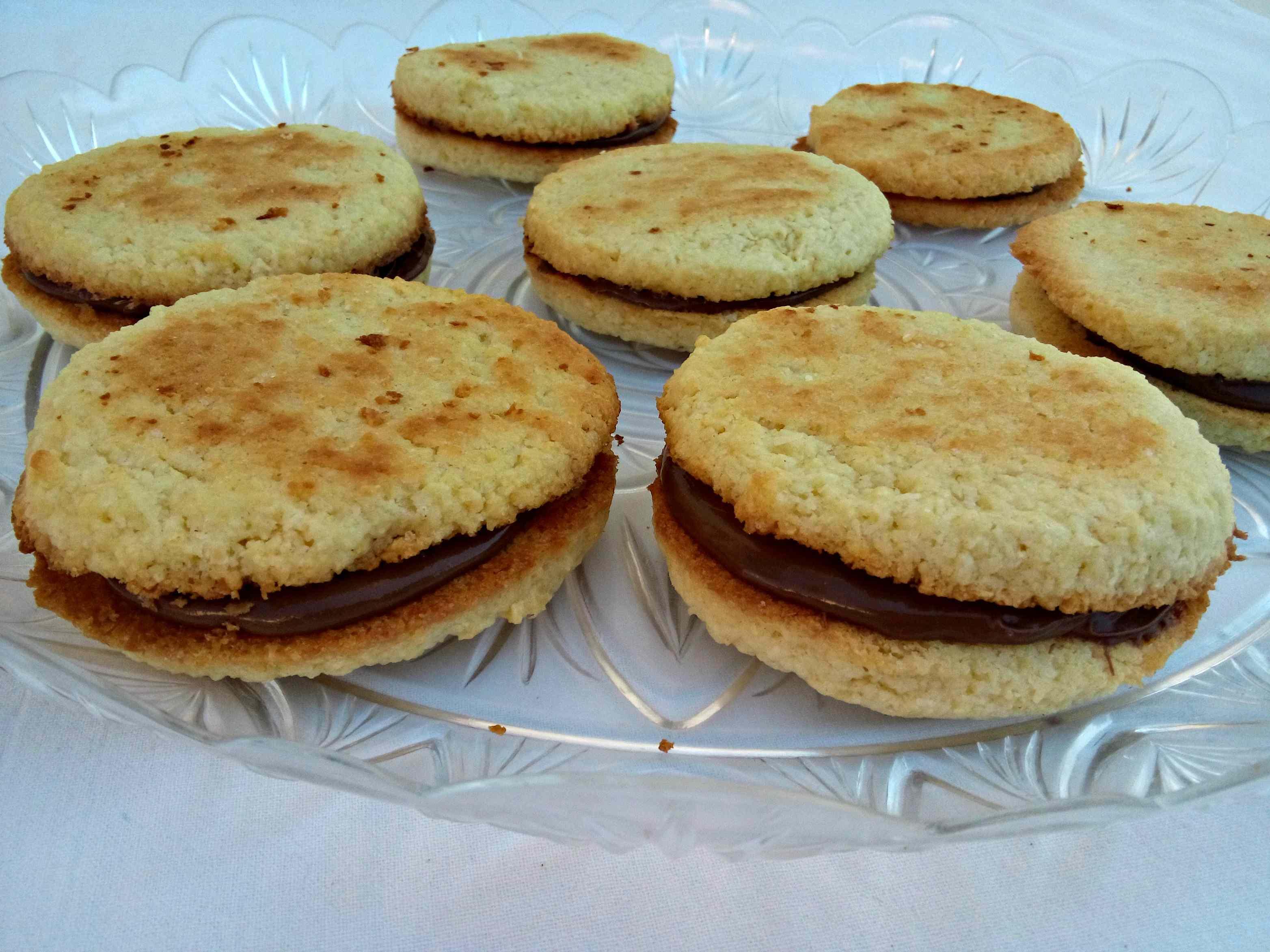Ricetta: Biscotti al cocco e nutella