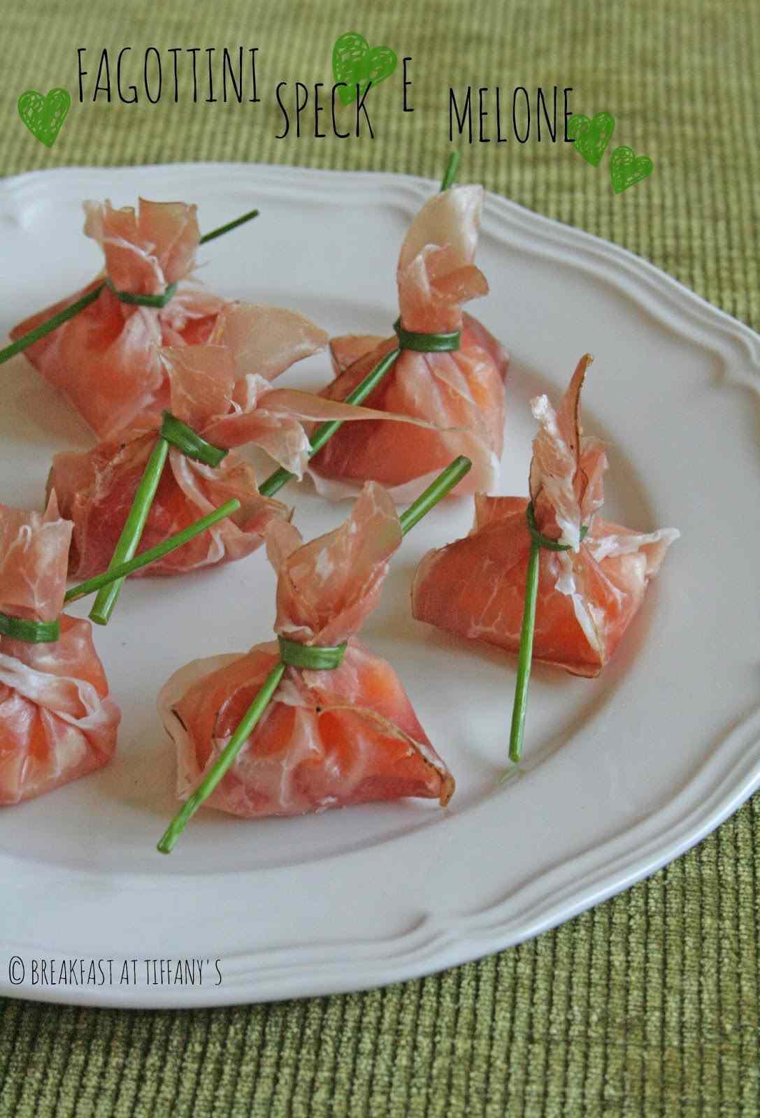Ricetta: Fagottini speck e melone / speck  melon turnovers recipe