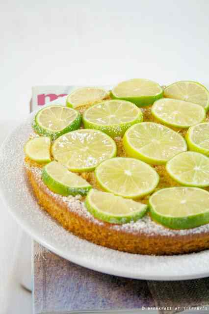 Ricetta:  torta light all\'olio extravergine d\'oliva al profumo di zenzero e lime / lime  ginger light extra virgin olive oil cake recipe