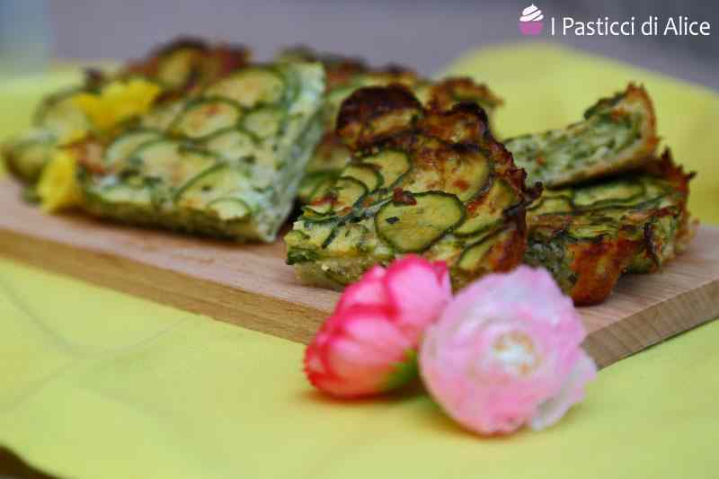 Ricetta: Frittata semplice di zucchine al forno