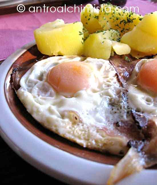 Ricetta: Speck mit Ei