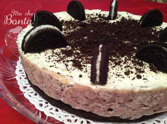 Ricetta: No Bake Oreo Cheesecake