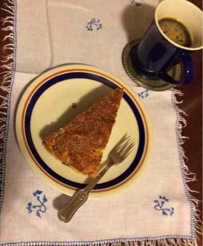 Una torta semplice per colazione
