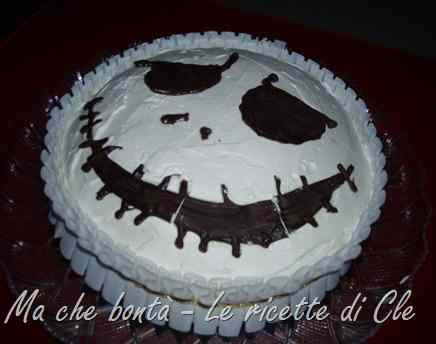 Torta jack skellington... for a birthday before christmas!
